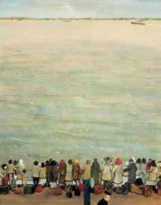 on the ocean by william kurelek