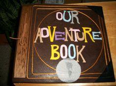 Our Adventure Book 12 x 12 Post Bound Scrapbook Album by MarvyMisc, $120.00