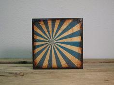 Retro Pinwheel Painting Mix and Match Art Blocks  by MatchBlox, $29.00