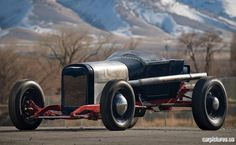 1923 Ford Model T Lakes Roadster- Not what a person usually thinks of when they think race car, but this is how racing really got its start here in the states.
