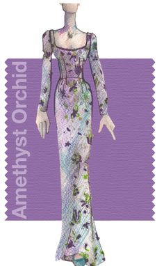 """Focus on…Amethyst Orchid Pantone Fall 2015.  Amethyst Orchid Pantone 17-3628 is one of the top ten colours for Fall 2015. """"Amethyst Orchid is the jewel in the crown of the Fall 2015 palette. Intriguing, vibrant and somewhat sensual, this enigmatic shade is an extraordinary hue that is unique, bold, creative and exciting."""" What's your favourite Fall colour? #pantone #fall2015 #digieye"""