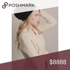 -NEW ARRIVAL- It's So Knitty Outside Knit Beanie Get ready for fall with some cold weather necessities! Grab this super soft knit beanie in Black( Also available in Ivory, Maroon and Light Gray). . . If you're would like to make an offer, please use the OFFER BUTTON. {10% discount on all 2+ orders} . . FOLLOW US✌🏽️ Insta 📸: shop.likenarly Facebook📱: likenarly Website 🌐: likeNarly.com likeNarly Accessories Hats