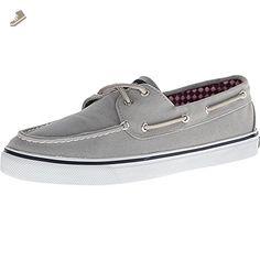 Sperry Top-Sider Women's Bahama Core Fashion Sneaker, Grey, 8 M US - Sperry top sider sneakers for women (*Amazon Partner-Link)