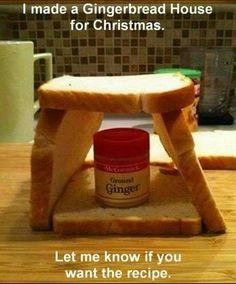 Christmas humor.