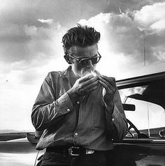James Dean. The bad boy  to end all other bad boys.
