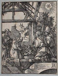 La Nativité - B20 - Albrecht Dürer - Figurae Passionis Domini Nostri Iesu Christi - Petite Passion