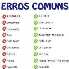 Imagem relacionada Portuguese Grammar, Portuguese Lessons, Portuguese Language, Learn Portuguese, Language Study, School Hacks, Student Life, Idioms, Study Tips