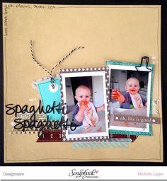 Layout von Michelle Lagler www.crela.ch mit dem Novemberkit der Scrapbook-Werkstatt