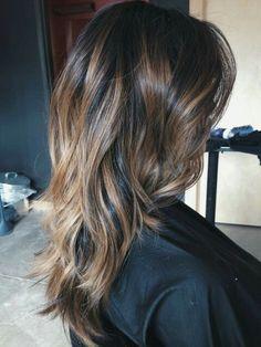 Balayage Highlights on my virgin Asian hair
