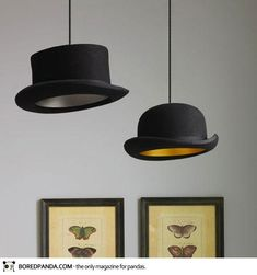 25 Interesting DIY Ideas to Reuse An Old Things, Bowlers Into Lamps