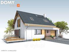 Projekt domu Jagoda 4 - wizualizacja frontowa Interior S, Outdoor Structures, Outdoor Decor, House, Home Decor, Design, Ideas, Decoration Home, Home