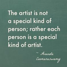 Good collection of quotes about creativity from Artful Parent: