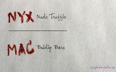 MAC Dupe - Boldly Bare lip liner