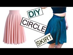 How to sew a circle skirt The Rachel Dixon retro tutorial DIY 40's 50's vintage pinup - YouTube