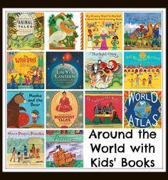 Around the World Kids Barefoot Books- Kid World CItizen