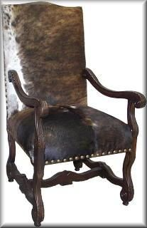 Image detail for -... Furnishings with an Equestrian Flair - Leather Cowhide Furnishings