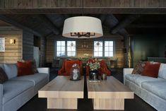 Innredning av hytta - Villa Von Krogh Villa, Cottage, Cabin, Couch, Furniture, Home Decor, Settee, Decoration Home, Sofa