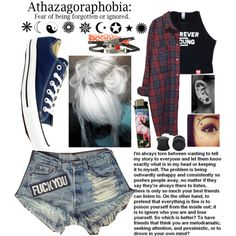 The decisions ,which one? by clumsycinderella2992 on Polyvore featuring polyvore fashion style Levi's Monki Converse Pyrex