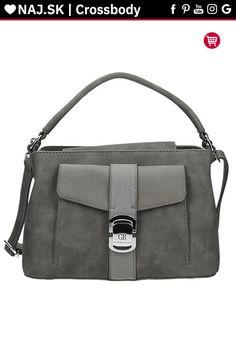 Kabelka kufrík GEORGES RECH Sivá OTELLO GRIS-019 Messenger Bag, Satchel, Bags, Handbags, Crossbody Bag, Bag, Backpacking, School Tote, Totes