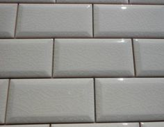 3 Quot X 6 Quot Antiga White Wavy Crackle Subway Tile With 2 Quot X