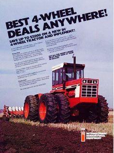 IH 86 Series FWD Ad