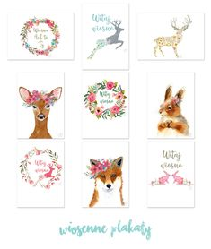 jednoduše domů asi 9 Jarní plakáty pro tisk Printable Wall Art, Girl Room, Diy Gifts, Free Printables, Diy Projects, Teddy Bear, Art Prints, Canvas, Animals