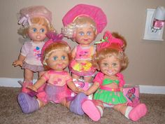 Galoob Baby Face Dolls - got these for my girls when they were little. I liked them more than they did.