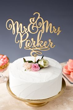 Custom wedding cake topper by Better Off Wed on Etsy Custom Wedding Cake Toppers, Wedding Cakes, Cupcakes, Cupcake Cakes, Our Wedding, Dream Wedding, Trendy Wedding, Wedding Ideas, Wedding Photos