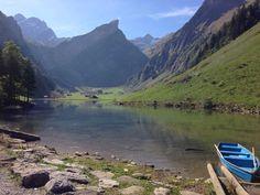 Seealpsee (lake) - Wasserauen, Switzerland