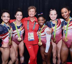 NBC Olympics Retweeted  Nastia Liukin @NastiaLiukin  Aug 9 What a legacy that will live on forever. Congratulations Martha and the #FinalFive!! #Rio2016