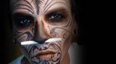 Image result for voodoo zombie makeup