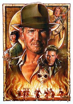 Indiana Jones and The Kingdom of the Cyrstal Skull by Steve Chorney