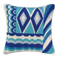 Trina Turk Coronado Bargello Decorative Wool Throw Pillow & Reviews | Wayfair