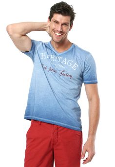 2daaa12181791 Camiseta Vila Romana Heritage Azul