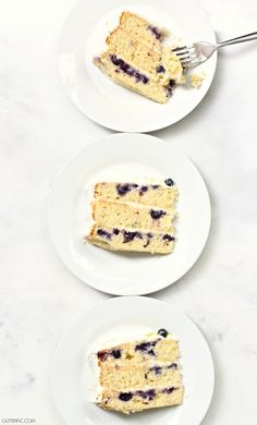 Lemon Blueberry Laye