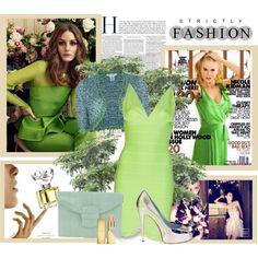 sophist green, lime dress