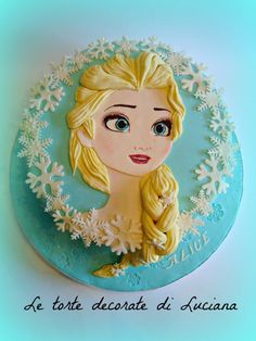 my Elsa cake - Cake by luciana