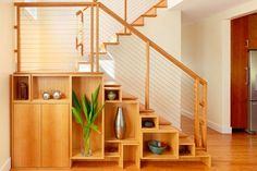Cabinet under stairs ideas cabinet under stairs ideas for space saving staircase shelves home throughout stair . cabinet under stairs ideas Shelves Under Stairs, Staircase Shelves, Space Under Stairs, New Staircase, Staircase Design, Staircase Ideas, Bike Storage Under Stairs, Staircases, Stair Design