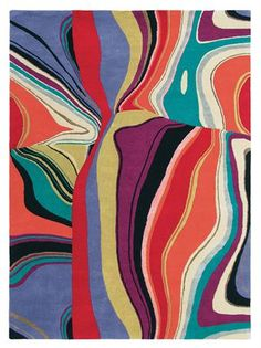 Brink & Campman estella curve 83800 (uit collectie per Multicolor Contemporary Rugs, Modern Art, Target Rug, Luxury Flooring, Oldschool, Modern Area Rugs, Patterned Carpet, Carpet Design, Carpet Runner