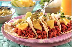 Receta de Tacos de Soya al Pastor