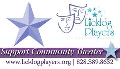 Licklog Players | Your Community Theater since 1978