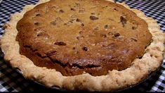Bud Royer's Famous Chocolate Chip Pie - Powered by @ultimaterecipe