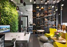 Ý tưởng thiết kế nội thất văn phòng của chính bởi chủ sở hữu studio, với tình yêu sâu sắc và cảm hứng truyền đến đội ngũ nhân viên thiết kế.