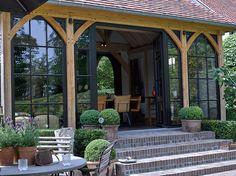 construction annexe Chalet Extension, Cottage Extension, Rustic Outdoor Furniture, Patio Pergola, Outdoor Pavilion, Rest House, Garden Buildings, Lake Cottage, Outdoor Kitchen Design
