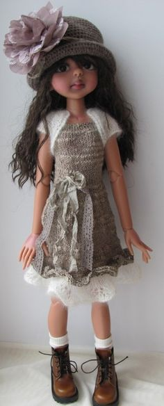 Hand Knit Doll Outfit Set for BJD Dolls SD Kim Lasher Tobi Kaye Wiggs | eBay