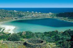 Volcano Caldera Pantelleria Island