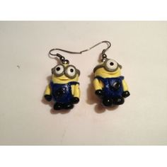 Despicable Me - Minion Earrings Even though I don't wear earrings because I'm not a fan of them these are a exception