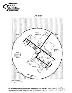 yurt floor plan