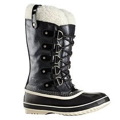 Sorel Womens Joan of Arctic Holiday Boots Black 75 BM US *** Continue to the product at the image link.