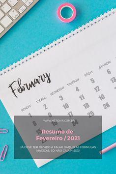 Resumo de Fevereiro / 2021 - Nerdiva.com.br Boarding Pass, February, Summary, Apps